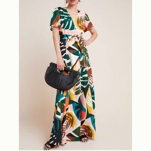 Anthropologie Hutch Tropical Dress